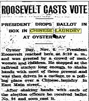 roosev vote