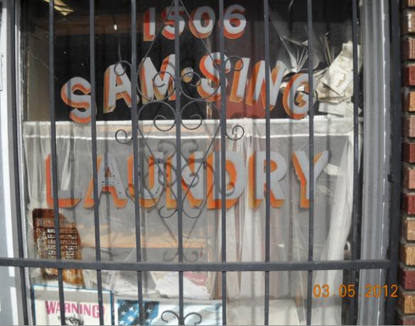 Sam Sing window