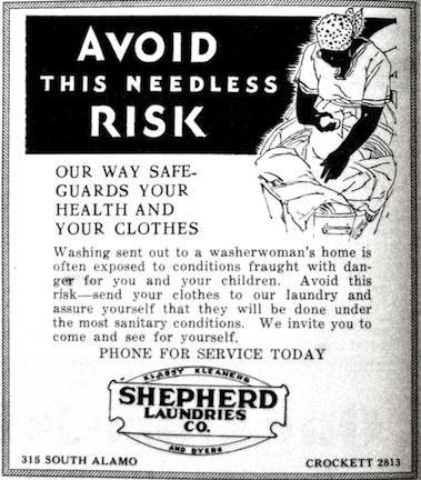 anti black washerwomen AVOID THE RISK