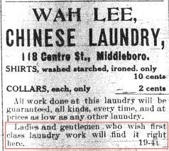 wah lee middleboro vt ad