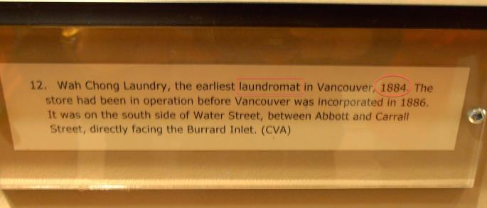 laundromat error label