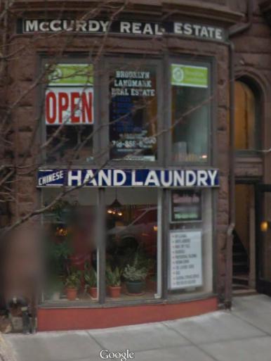110 Montague NYC 2014 chin hand laun